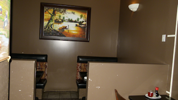 two  semi-private booths